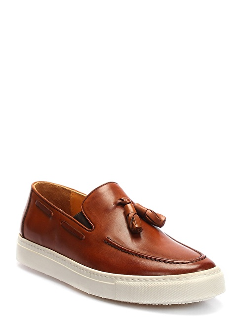 İnci Loafer Ayakkabı Taba